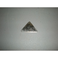 Triangular chrome insert S/H