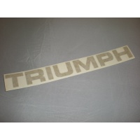 'TRIUMPH' rear transfer gold - left side of boot lid